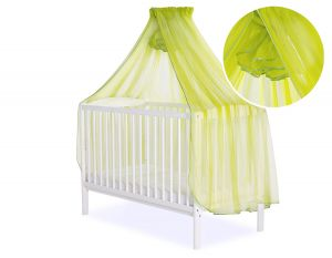 Mosquito-net made of chiffon - green