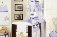 Bedding set 7-pcs with canopy (S)