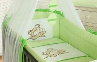 Bedding set 5-pcs with Mosquito-net (L)