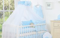 Bedding set 5-pcs with mosquito-net