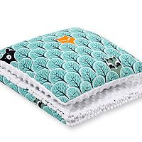 Set: Double-sided blanket minky + pillow