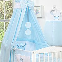 Bedding set 5-pcs with canopy