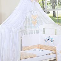 Bedding set 7-pcs with Mosquito-net