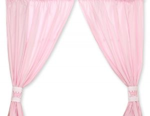 Curtains for baby room- Little Prince/Princess pink