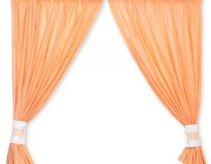 Curtains for baby room- Little Prince/Princess peach