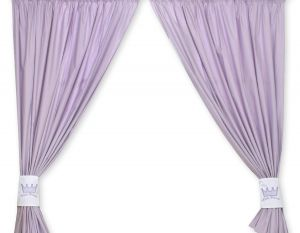 Curtains for baby room- Little Prince/Princess lilac