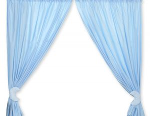 Curtains for baby room- Good night blue
