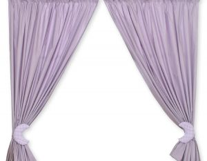 Curtains for baby room- Good night lilac