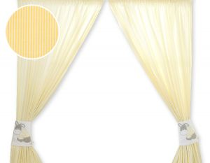 Curtains for baby room- Donkey Luca yellow
