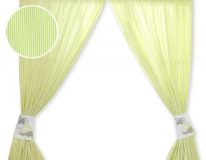 Curtains for baby room- Donkey Luca green