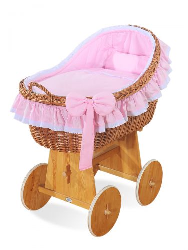 Cover set 4 pcs for Moses Basket/Wicker crib no. 2200/72200-822