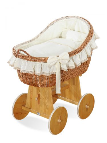 Cover set 4 pcs for Moses Basket/Wicker crib no. 2200/72200-823